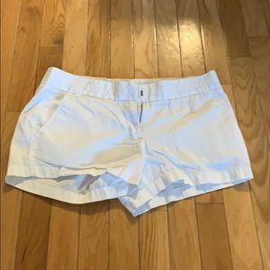 J.Crew white chino shorts